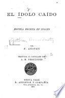 El idolo caido, novela escrita en ingles