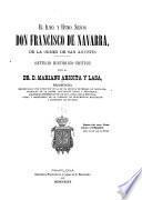 El Ilmo. y Rvmo. Señor Don Francisco de Navarra, de la orden de San Agustín