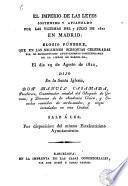 El Imperio de las leyes sostenido y afianzado por las victimas del 7 julio de 1822 en Madrid