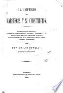 El imperio de Marruecos y su constitución