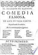 El Infanzon de Illescas, comedia famosa