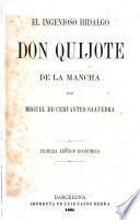 El ingenioso hidalgo, Don Quijote de la Mancha