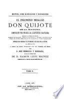¬El ingenioso hidalgo Don Quijote de la Mancha0