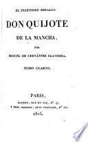 El Ingenioso hidalgo don Quijote de la Mancha,4