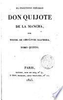 El Ingenioso hidalgo don Quijote de la Mancha,5