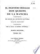 El Ingenioso hidalgo Don Quixote de la Mancha compuesto por Miguel de Cervantes Saavedra