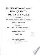 El Ingenioso hidalgo don Quixote de la Mancha,4