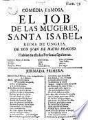 El Job de las mugeres, Santa Isabel Reina de Ungria