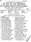 El Job de las mugeres, Sta. Isabel, reyna de Ungria