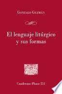 El lenguaje litúrgico y sus formas