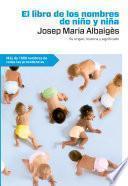 El libro de los nombres de niño y niña