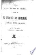 El libro de los recuerdos ; Fábulas de la educación