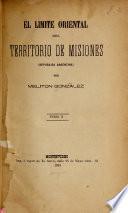El limite oriental del territorio de Misiones