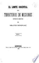 El límite oriental del territorio de Misiones, República Argentina