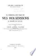 El maravilloso viage de Nils Holgerssons a través de Suecia