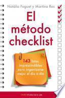 El método checklist
