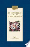 El ministerio de las publicaciones