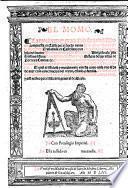 El Momo. La moral ... historia del Momo ... Trasladada en Castellano por A. de Almaçan. (Exposicion de la obra por el Maestro Venegas.) G.L.
