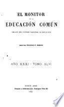 El Monitor de la educación común