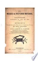 El Museo de historia natural de Valparaiso durante el año de 1902