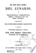 El Non plus ultra del lunario y pronóstico perpetuo
