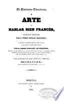 El novísimo Chantreau ó arte de hablar bien francés