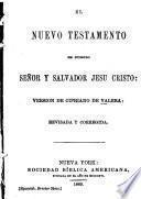 El Nuevo Testamento de Nuestro Senor y Salvador Jesu Cristo