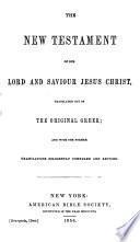 El Nuevo Testamento ... Version ... revisada ... por la Sociedad Americana de la Biblia ... Edicion esteriotipica. (The New Testament, etc.) Span. & Eng