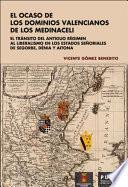 El ocaso de los dominios valencianos de los Medinaceli