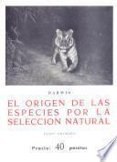 El origen de las especies por la selección natural