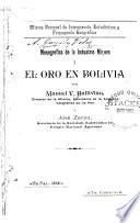 El oro en Bolivia