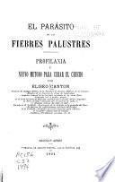 El parásito de las fiebres palustres