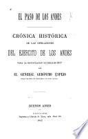 El paso de las Andes