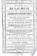 El Phenix de las becas, Santo Toribio Alphonso Mogrobejo