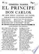El principe don Carlos