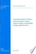 El principio vital del ser humano en Ireneo, Orígenes, Agustín, Tomás de Aquino y la antropología teológica española reciente