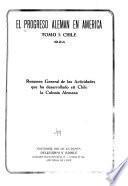 El Progreso alemán en América: Chile
