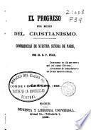 El progreso por medio del cristianismo: Año tercero, 1858