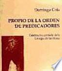 El Propio de la Orden de Predicadores