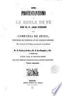 El Protestantismo y la regla de fé, 2