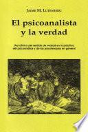 El psicoanalista y la verdad