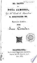 El Rapto de doña Almodis, hija del Conde de Barcelona D. Berenguer III