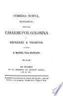 El refranero genera español, parte recopilado, y part compuesto por José María Sbari
