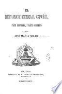 El refranero general español: Intraducibilidad del Quijote, por d. J. M. Sbarbi