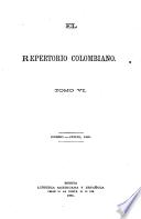 El repertorio colombiano