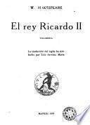 El rey Ricardo II