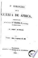 El romancero de la guerra de Africa