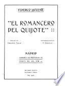 El romancero del Quijote