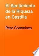 El Sentimiento de la Riqueza en Castilla