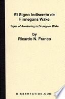 El Signo Indiscreto de Finnegans Wake